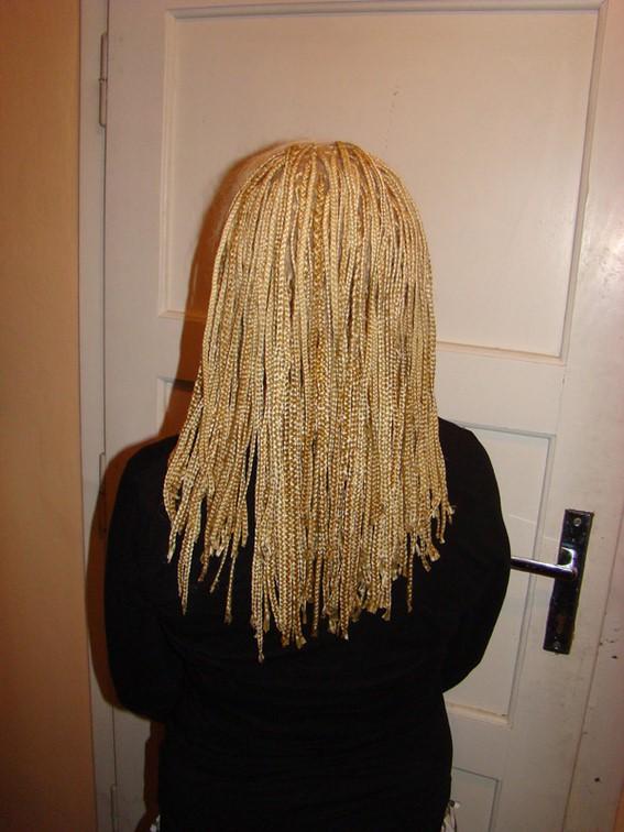 blond rasta copánky