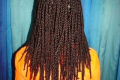 Eighty box braids Prague